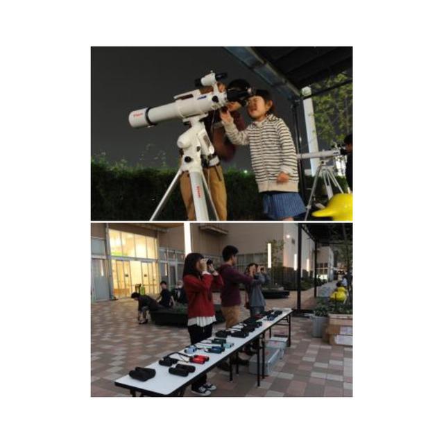 夏の夜空の観察会 (1)天体望遠鏡や双眼鏡で夏空観測会 02.jpg